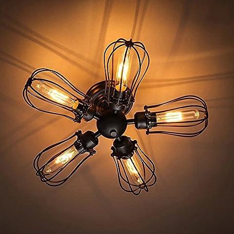 Retro Industrie Stil Eisen Wandlampe Kreative Stylische Wandleuchte Passend Wohnzimmer