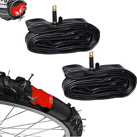 WOLTU 2x Selbstreparierender Fahrrad Schlauch 26 x 1,75/2,125 Autoventil