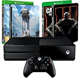 Pack Xbox One + Star Wars : Battlefront édition limitée + Call of Duty : Black Ops III + les Steelbook exclusifs Amazon