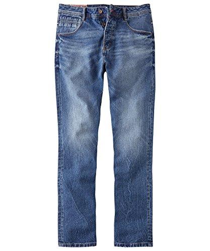 Joe Browns Herren Easy Fit Jeans Blau 36W x 32L - Joes Relaxed Fit Jeans