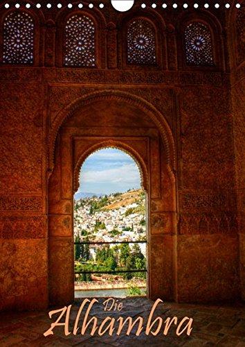 Die Alhambra (Wandkalender 2019 DIN A4 hoch): Die Alhambra - Der faszinierende Sultanpalast in Granada (Monatskalender, 14 Seiten ) por Michael Weiß