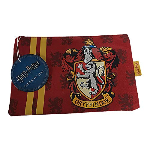 Pritties Accessories Véritable crête de Gryffondor de Harry Potter de Warner Bros Make Up Bag Cosmetic Purse