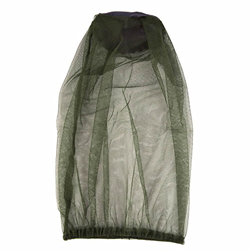 LLLucky Camping Head Net Outdoor Gesicht Mesh Maske Hals Abdeckung Netting Moskito Insekt Bug Bee Protector Net -