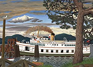 Cobblehill 51016 - Puzzle de 1000 Piezas de The Car Ferry at Sidney BC