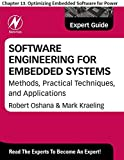 Software Engineering for Embedded Systems: Chapter 13. Optimizing Embedded Software for Power