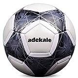 Night Light Up Football, Senza Batteria, PU Glow in The Dark Soccer, Fluorescent Bright After Sun Shine, Pallone da Calcio Ufficiale (Misura 5)