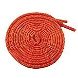 McLaces 1 Paar Schnürsenkel 21 Farben auch Neon ideal für Sneaker und Chucks (Herbst-orange)