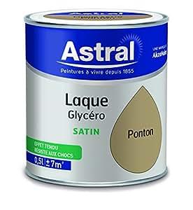 ASTRAL 5213367 Laque glycéro 0,5 L Satin Ponton