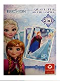 ASS Altenburger 22501548 - Quartett- und Aktionsspiel Disney's Die Eiskönigin