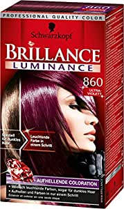 Brillance Aufheller Luminance, 860 Ultraviolett, 3er Pack (3 x 1 Stück)