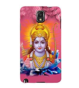 Lord Rama 3D Hard Polycarbonate Designer Back Case Cover for Samsung Galaxy Note 3 N9000 :: Samsung Galaxy Note 3 N9002 :: Samsung Galaxy Note 3 N9005 LTE