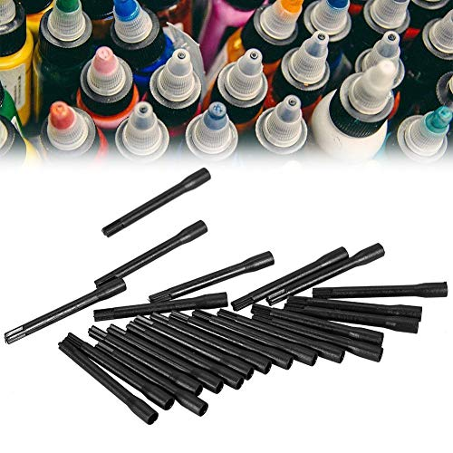 H.Yue 100Pcs/Bag Tattoo Ink Pigment Mixing Disposable Stick Mixer Blender Accessory Kit - Ink Mixing Kit