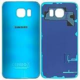 Original Samsung Akkudeckel blue / blau für Samsung G920F Galaxy S6 (Akkufachdeckel, Batterieabdeckung, Rückseite, Back-Cover) - GH82-09548D