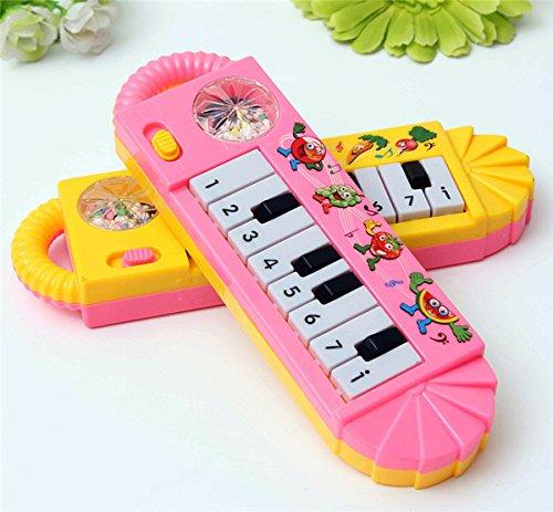 Bluelover Strumento musicale pianoforte gioco educativo precoce della Kids giocattolo inerente allo sviluppo del bambino