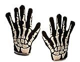 Scream Machine Halloween Skeleton Gloves - Green