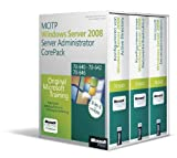MCITP Windows Server 2008 Server Administrator CorePack - Original Microsoft Training für Examen 70-640, 70-642, 70-646