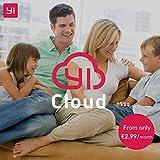 YI Home Camera 2nd 1080p Wifi IP Überwachungskamera, Smart Home Kamera mit Nachtsicht, Bewegungsalarm, 2-Way Audio, Gestenerkennung, Haus Monitor Baby Monitor, App für Smartphone/PC, YI Cloud Service - 6