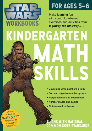 Kindergarten Math Skills (Star Wars Workbooks)
