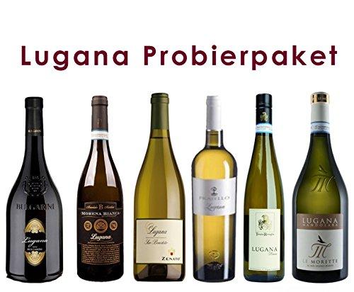 6 er Probierpaket Lugana | Weißwein | trocken | 6 x 0,75 L.