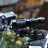 Cree T6 Taschenlampe 1000 Lumen w / Kopfband Halter - 6