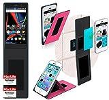 reboon Hülle für Archos 55 Diamond Selfie Tasche Cover Case Bumper | Pink | Testsieger