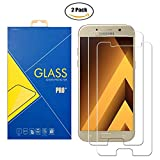 [2 Pack] Panzerglas Schutzfolie Samsung Galaxy A5 2017 SM-A520 / A520F / A520H / 520 - Gehärtetem Glas Schutzfolie Bildschirmschutzfolie für Samsung Galaxy A5 2017 SM-A520 / A520F / A520H / 520
