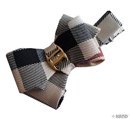 HAND Belle mode Clips Bow Alligator cheveux - Couleurs et Modèles assortis (BHC06 - pack de 6)