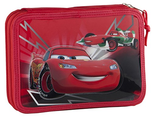 Cars – Estuche escolar garnie rojo Shift Disney Cars vuelta al cole 2015