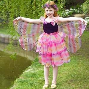 girls kids childrens deluxe amethyst butterfly fairy