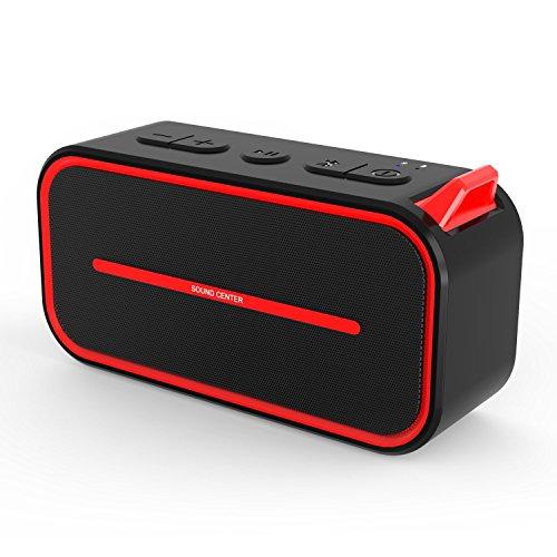 SPARIN mit Bluetooth 4.2 Mini Bluetooth Lautsprecher, kleiner Portable Lautsprecher für drahtlose Bluetooth, mit unglaublichen Bass-Effekt, Mobiler mini Lautsprecher (Silber)