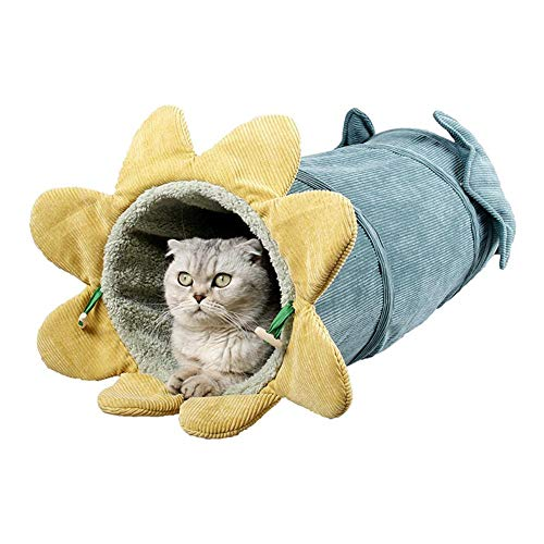Lucky Family Gatto Grotta Nido di Animale Domestico Drilling Pieghevole Tunnel di Gatto Nest Cartoon Pet Nido di Cane Letto di Gatto Morbido Pet Sacco A Pelo