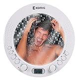 Radio FM AM radio de ducha baño Radio Ducha con espejo resistente al agua