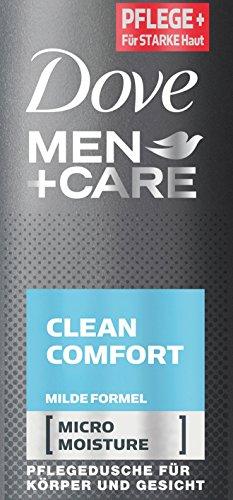 Dove Men+Care Duschgel Clean Comfort, 250 ml