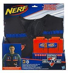 Idea Regalo - Nerf Elite - Kit di Giubbotto Tattico, A0250148, Esclusiva Amazon