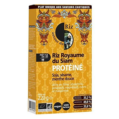 139fe136254 Autour Du Riz - Riz protéiné Royaume du Siam 220G Bio - Vendu par pièce -