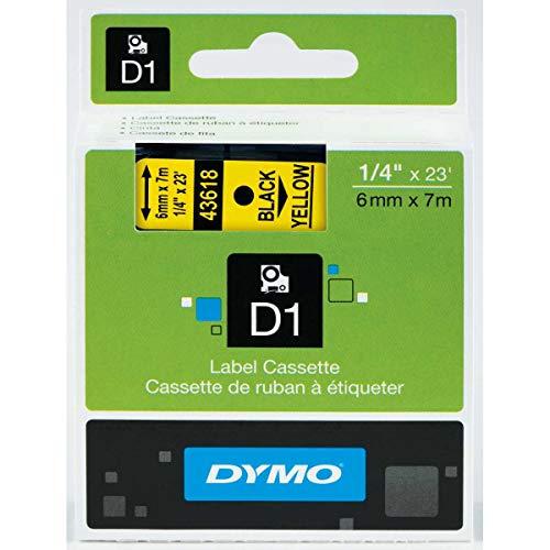 D1Tape schwarz/gelb 12mm 45018, von DYMO & Best Preis quadratisch