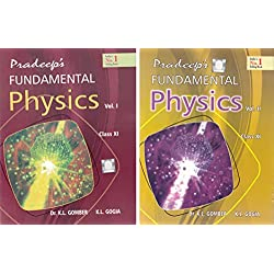 Pradeep's Fundamental Physics for Class 11 - 2018-2019 Session (Set of 2 Volumes)