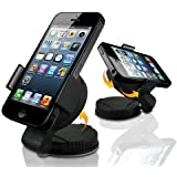 Mobile-Bits4u APPLE iPhone 5 Universal 360 In-Car Suction Holder Mount For Your Car Windscreen or Dashboard