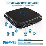 TV-Box-Android-90-4GB-RAM64GB-ROM-Dolamee-4K-Ultra-HD-Smart-TV-Box-avec-Dual-WiFi-24G-et-50G3DUSB-30Ethernet-10M100MHDMI2019-Dernier-D18-Mini-Lecteur-multimdia