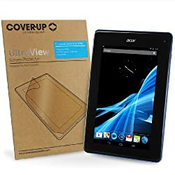 "Cover-up Acer Iconia B1-710b1-711 (7"") Tablet Crystal Clear Invisible Screen Protector"
