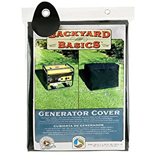 Mr. Bar-B-Q 07206bb Black Equipment Dust Coque - Equipment Dust Covers (Black, 863.6 x 609.6 x 762 mm)