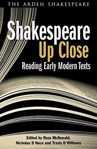 Shakespeare Up Close (Arden Shakespeare) por Russ Mcdonald