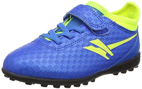 Gola Sparta VX, Jungen Fußballschuhe, Blau (Blue/Volt), 26 EU (8 UK)