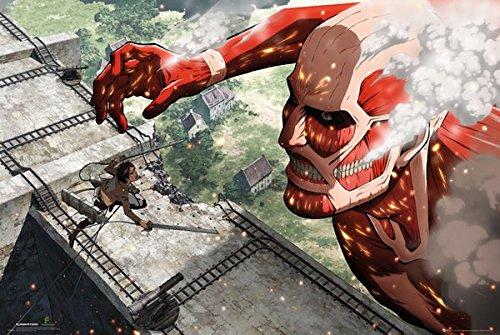 GB eye, Attack on Titan, Titan, Maxi Poster, 61x91.5cm