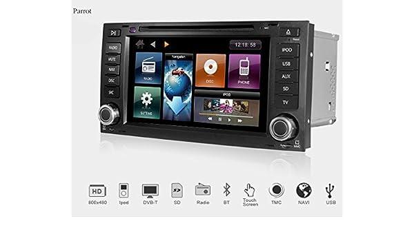 Dynavin DVN-VWTG Multimedia Navigation N6 Plattform VW Touareg 7L ...