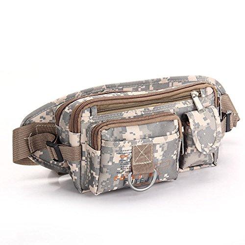 ZYT Multifunktionale Taschen und Frauen Reiten im freien Tarnung Schulter geschleudert tragbar light camouflage