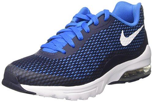 Nike Air Max Invigor Se, Zapatos De Gimnasia Azul Para Hombre (medianoche Azul Marino / Blanco / Azul Foto)