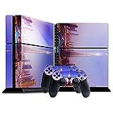 Landschaften 175, Dubai, Designfolie Sticker Skin Aufkleber Schutzfolie mit Farbenfrohem Design für Playstation 4 CUH 1200