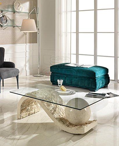 Table basse vague salon