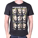 Guardians of the Galaxy 2 - Herren Premium T-Shirt - Expression of Groot (S-XL) (L)